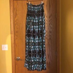 NWT Faded Glory 2x maxi dress Aztec sleeveless